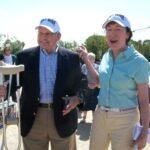Susan Collins and Tim King