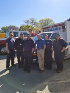 Fire/EMS Staff and Town Manager